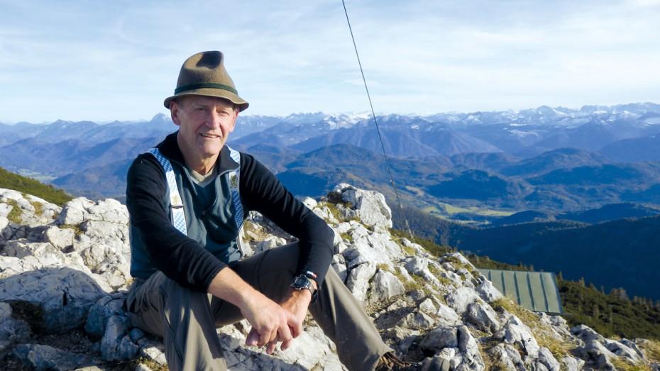 Geprüfter Bergwanderführer Blasius Heiß