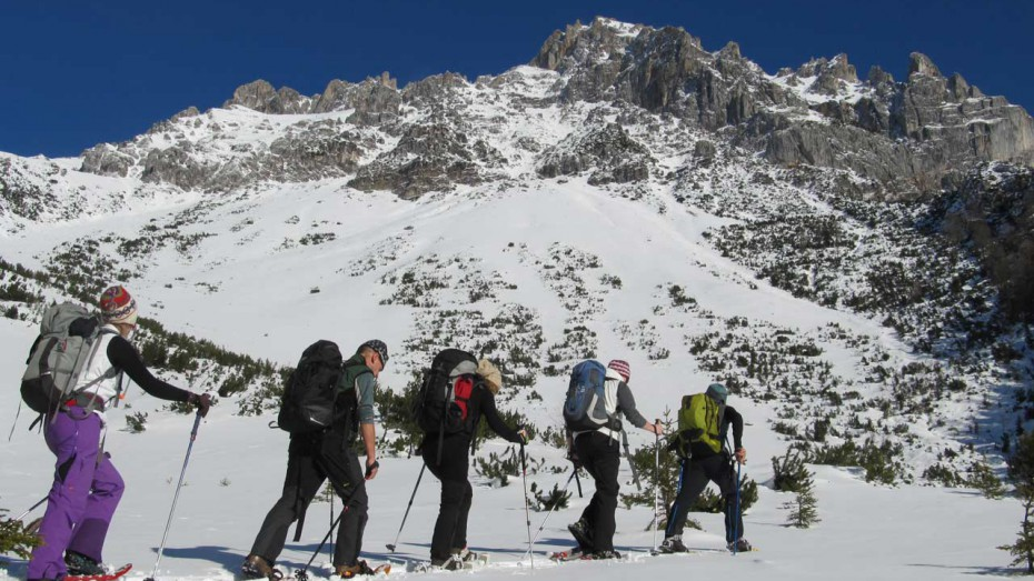 Schneeschuhwandern in Lenggries