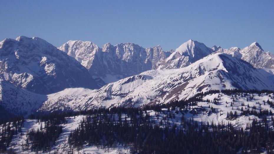 Bergpanorama Karwendel